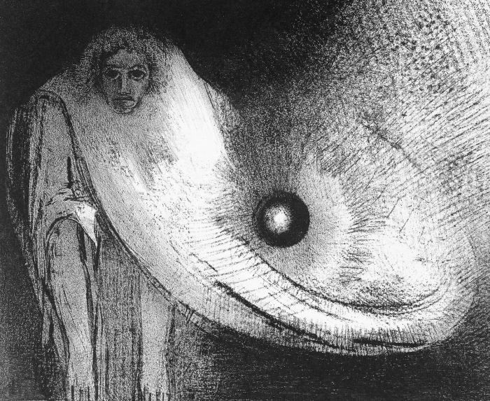 Bild: Odilon Redon, The Buddha (1895)