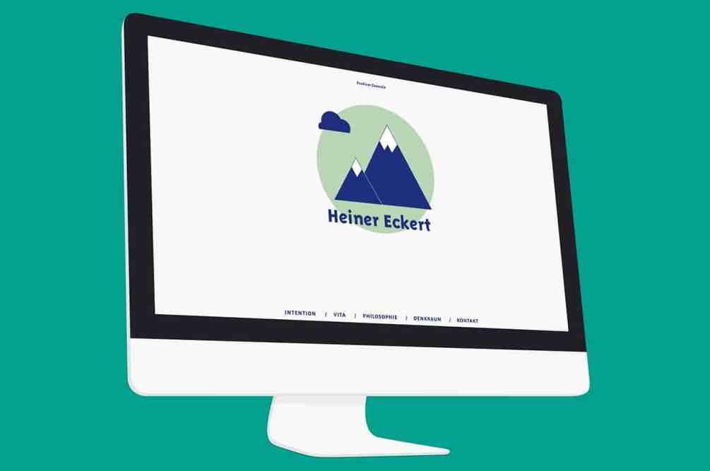 Denken und Handeln – die Konzeptagentur für langfristige Gestaltung hat für Heiner Eckert das Webdesign responsive gestaltet