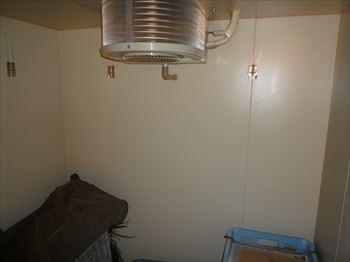 低温用エアコン内機取付工事