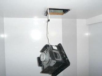 二部屋用換気扇取り外し作業