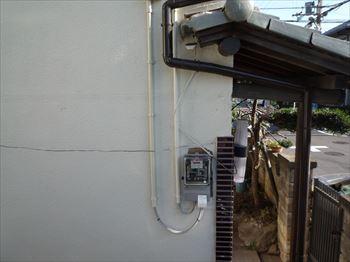 電気容量増設工事完了