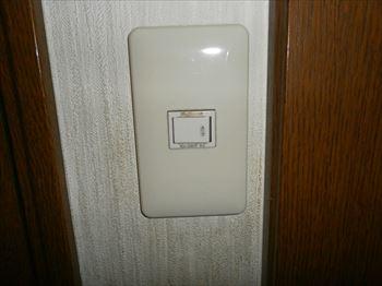 入り切り出来ないスイッチ故障