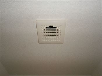 トイレ換気扇吸込みグリル