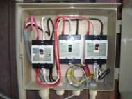 動力分電盤-幹線改修工事
