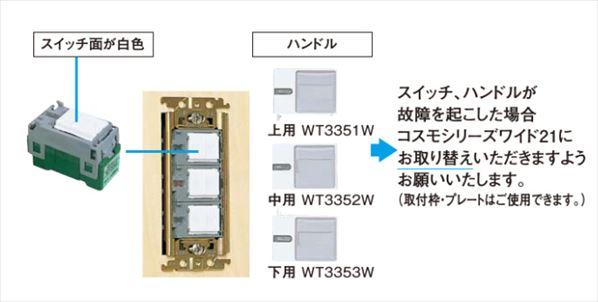 ニューコスモシリーズ配線器具説明