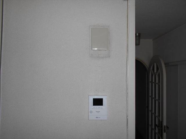 テレビモニター取付(室内側)