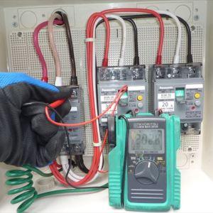 食品倉庫さんの三相200V低圧電力引込工事