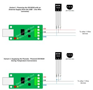 USB to 1Wire interface card with FT232RL & DS2480B