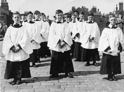 St Pauls Choir circa 1950