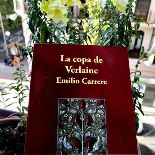 """Portada """"La copa de Verlaine"""" de Emilio Carrere"""