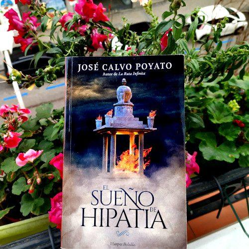 """Portada de """"El sueño de Hipatia"""", de José Calvo Poyato. Ed. Harper Collins. HarperBolsillo, Histórica v.68"""
