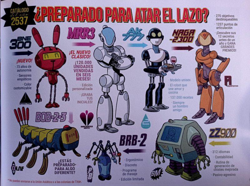 Robots de Monteys