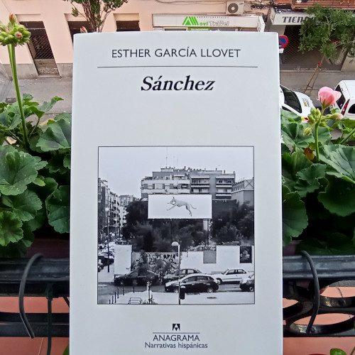 """Portada de «Sánchez», de Esther García Llovet. Ed. Anagrama, 1ª ed. ene 2019. Colección """"Narrativas Hispánicas"""", v. 618"""