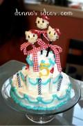 Hello Kitty Cake Pop Cake