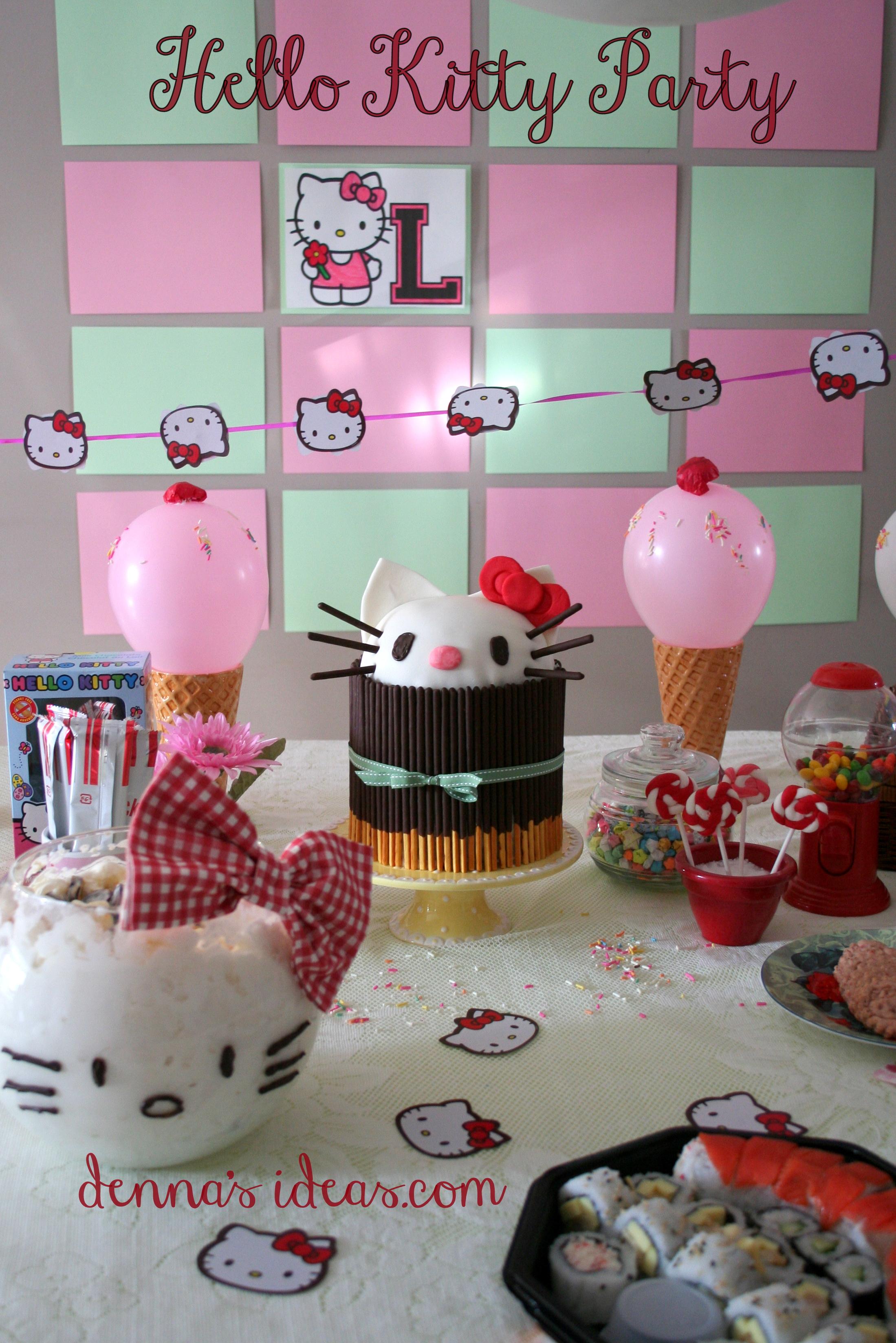 Comida De Hello Kitty Para Fiestas