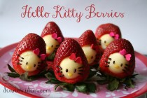 Hello Kitty in Strawberries!