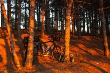 bike-at-sunset