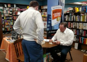 Dennis Gilbert, CSP book signing #custserv