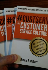 Book on Customer Service Dennis Gilbert
