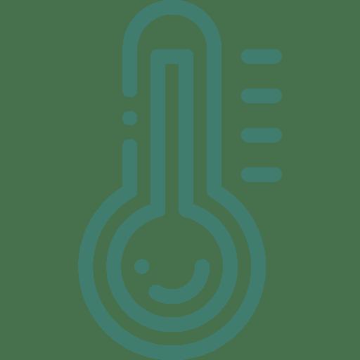 temperature gauge icon