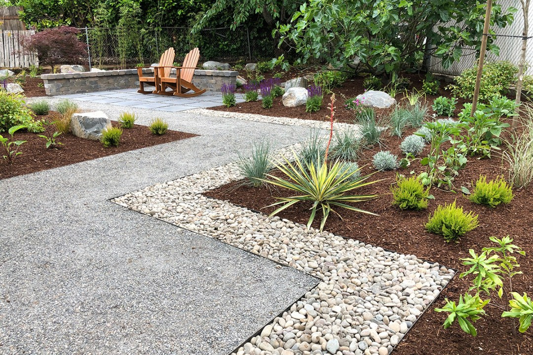 example of xeriscaping in landscape design