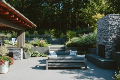 patio area for outdoor living