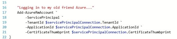 AzureAutomation23