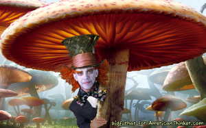 Obama The Delusional Mad Hatter... Finis.
