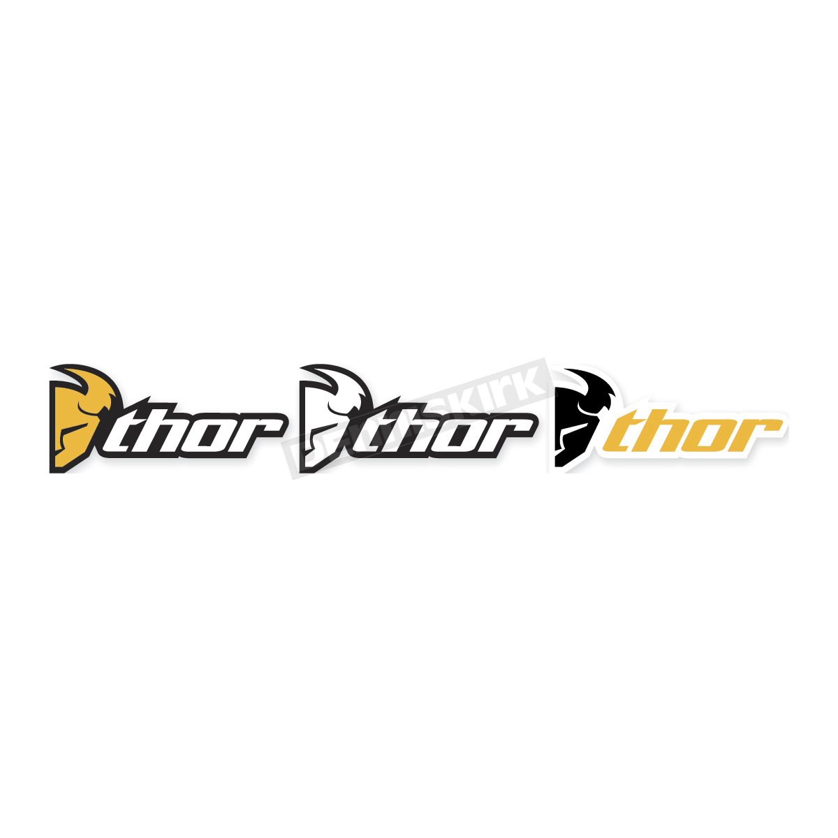 Thor Logo Decal Atv Dirt Bike