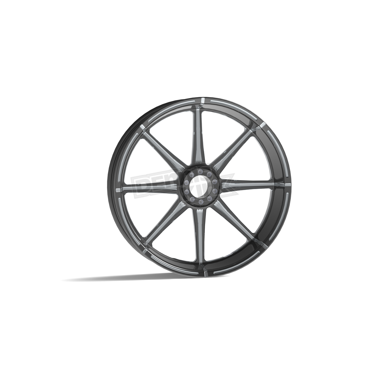 revtech midnight series 18 in x 4 25 in modular velocity billet wheel