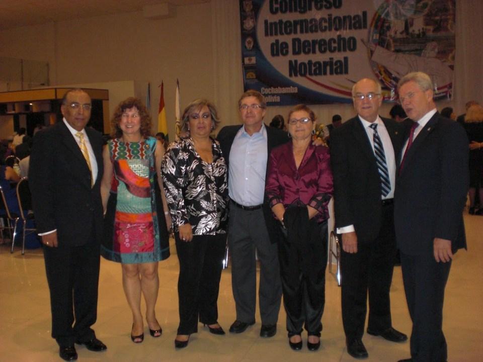 Reuniones en Cochabamba, Bolivia.