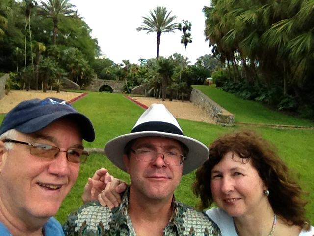 Visitando Jardin Botanico en Miami