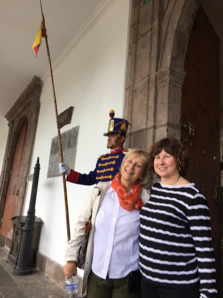 Visita al Palacio Presidencial de Ecuador con la VPes Sara Ethel Castro
