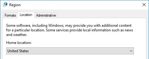 Configuring Regional Settings and Windows locales with Group Policy - Regional Settings Location
