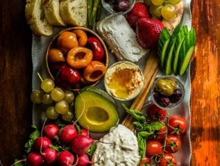 Cheese & Veggie board