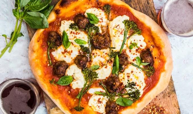 Sausage Ricotta & Broccolini Pizza