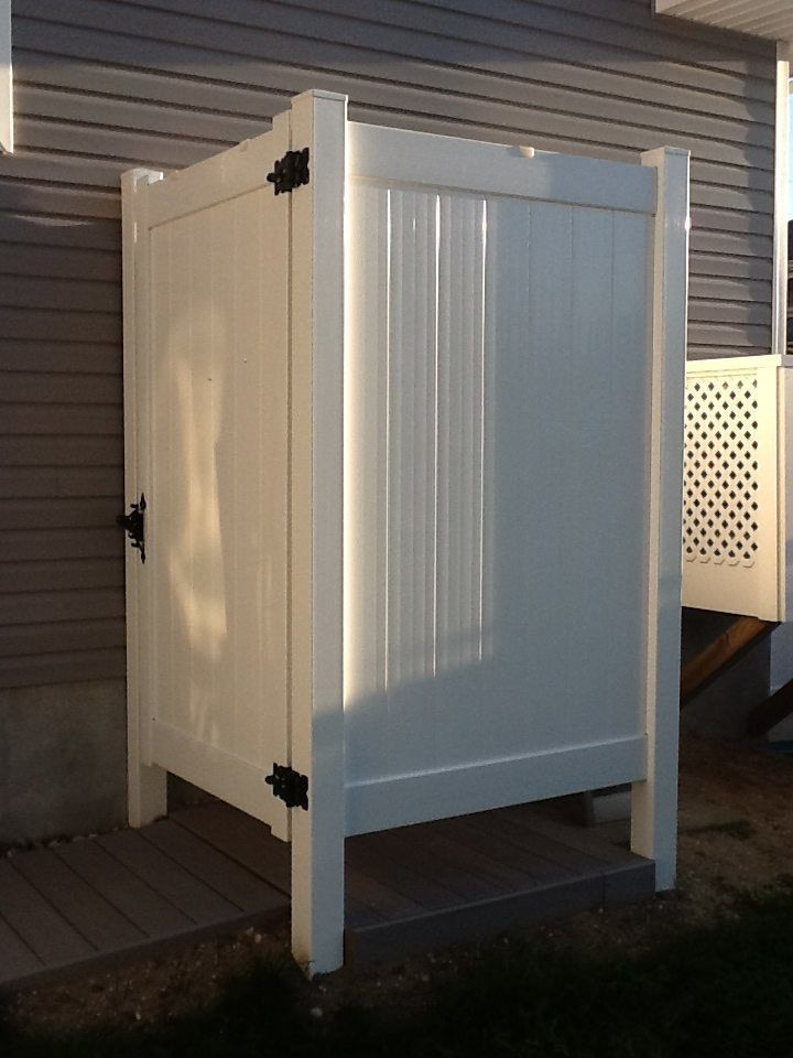 Outdoor Shower Enclosures Photos Dennisville Fence