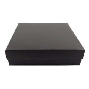 BLACK MAILING BOXES FOR WEDDING INVITATIONS
