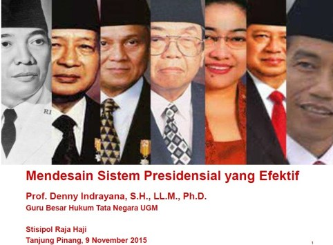 Indonesian Presidential System
