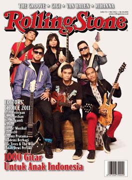 Tentang 20 Gitaris Indonesia di Rolling Stone