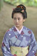 Atsuko in kimono costume for a movie role.