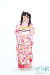 Young Mayu in kimono