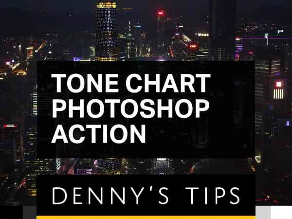 Tone Chart Photoshop Action