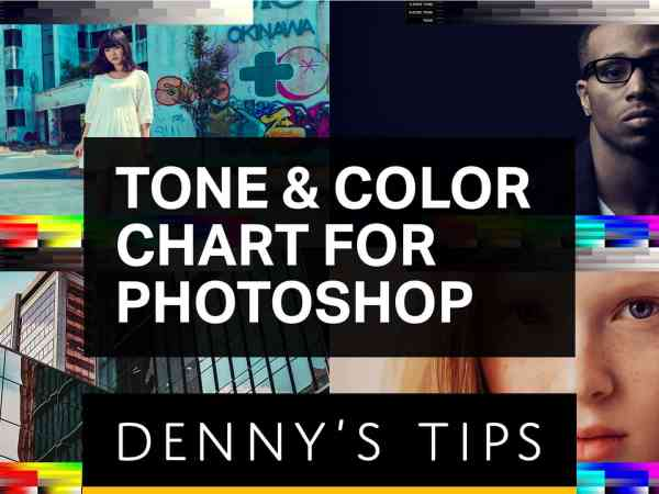 Tone & Color Chart for Photoshop
