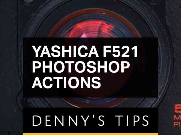 Yashica F521 Photoshop Actions