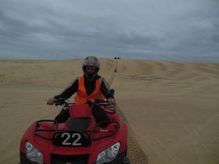 Quadfahren Sandduenen