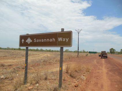 Savannah Way Schild