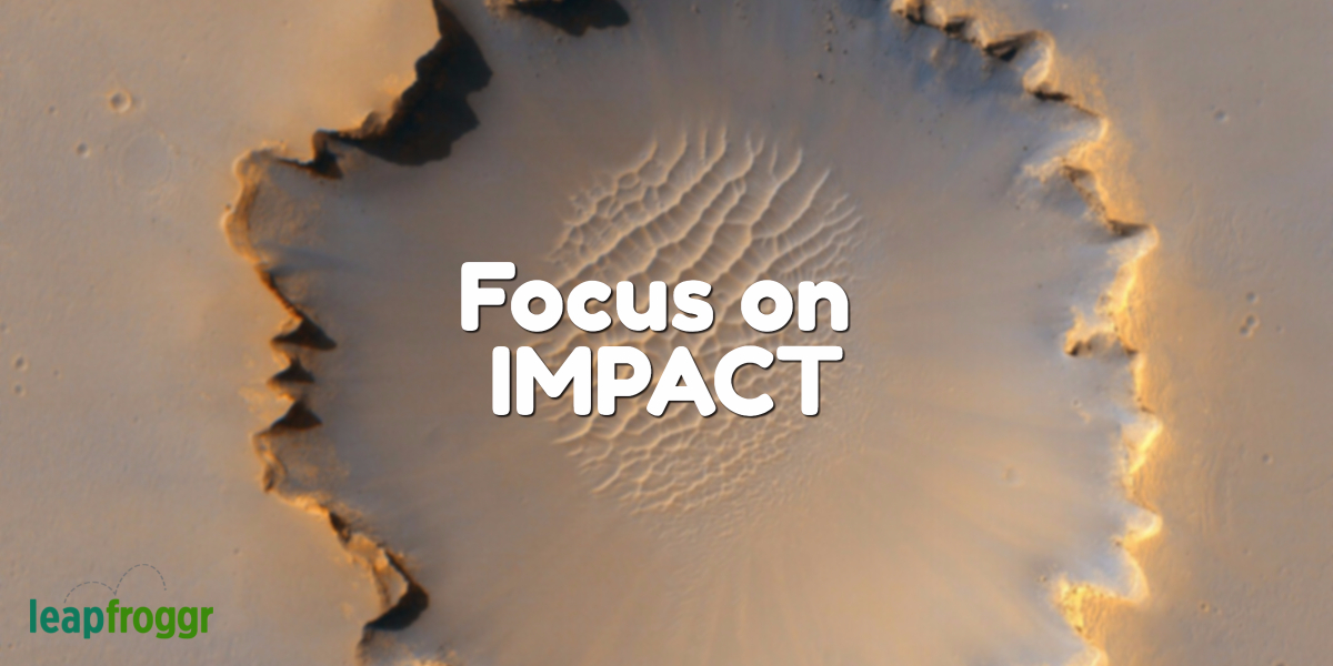 Startup Focus: Less Fluff, More Focus on Business Impact