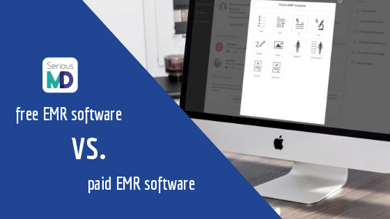 Free vs paid emr software