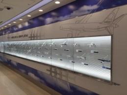 Flight simulator, deck observation